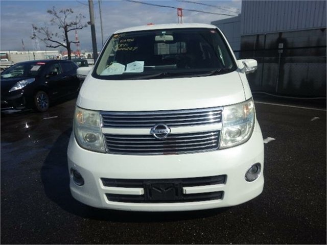 Used Nissan Elgrand E51 Highway Star, 2010 Nissan Elgrand E51 Highway Star White Automatic Wagon