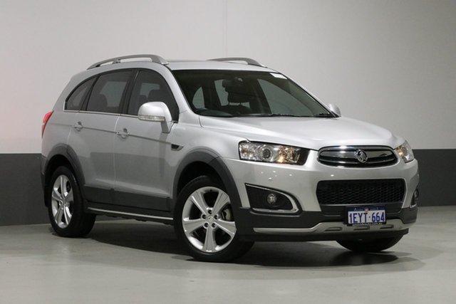 Used Holden Captiva CG MY15 7 LTZ (AWD), 2015 Holden Captiva CG MY15 7 LTZ (AWD) Silver 6 Speed Automatic Wagon