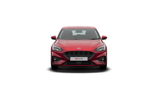 2020 Ford Focus SA 2020.25MY ST Ruby Red 7 Speed Automatic Hatchback.