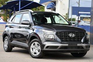 2019 Hyundai Venue QX MY20 Go Cosmic Grey 6 Speed Automatic Wagon.