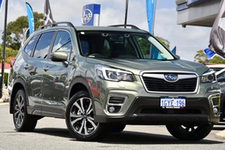 2019 Subaru Forester S5 MY20 2.5i Premium CVT AWD Jasper Green Metallic 7 Speed Constant Variable.
