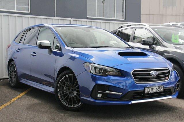 Demo Subaru Levorg MY20 2.0 STI Sport (AWD), 2020 Subaru Levorg MY20 2.0 STI Sport (AWD) WR Blue Mica Continuous Variable Wagon