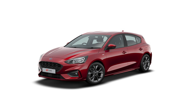 New Ford Focus SA 2020.25MY ST, 2020 Ford Focus SA 2020.25MY ST Ruby Red 7 Speed Automatic Hatchback