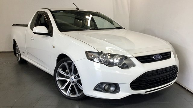 Used Ford Falcon FG MkII XR6 Ute Super Cab, 2012 Ford Falcon FG MkII XR6 Ute Super Cab White 6 Speed Sports Automatic Utility