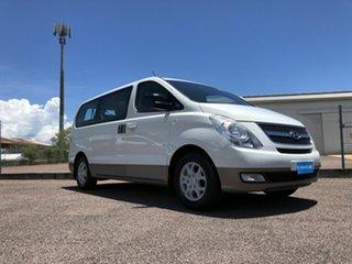 2011 Hyundai iMAX TQ-W White 6 Speed Automatic Wagon.