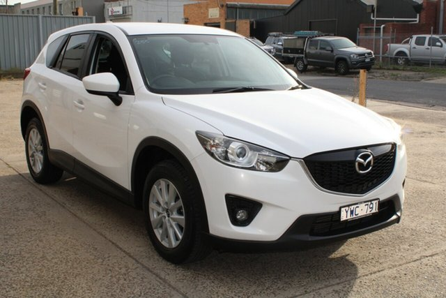Used Mazda CX-5 Maxx Sport (4x4) West Footscray, 2012 Mazda CX-5 Maxx Sport (4x4) White 6 Speed Automatic Wagon