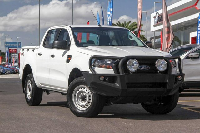 Used Ford Ranger PX MkII XL Double Cab, 2015 Ford Ranger PX MkII XL Double Cab Cool White 6 Speed Sports Automatic Cab Chassis