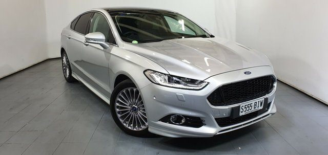 Used Ford Mondeo MD Titanium PwrShift, 2015 Ford Mondeo MD Titanium PwrShift Silver 6 Speed Sports Automatic Dual Clutch Hatchback