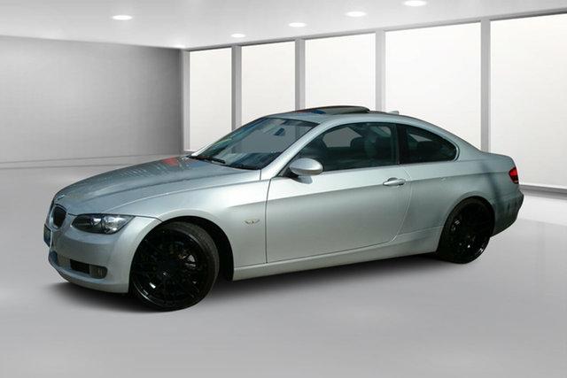 Used BMW 3 Series E92 MY08 325i Steptronic, 2007 BMW 3 Series E92 MY08 325i Steptronic Titanium Silver 6 Speed Sports Automatic Coupe