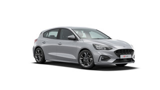 2019 Ford Focus SA 2020.25MY ST-Line Moondust Silver 8 Speed Automatic Hatchback