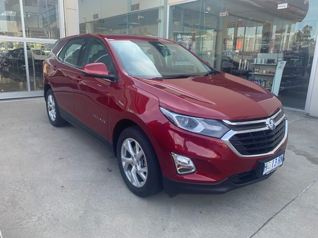 Demo Holden Equinox EQ MY18 LT FWD, 2017 Holden Equinox EQ MY18 LT FWD Glory Red 9 Speed Sports Automatic Wagon