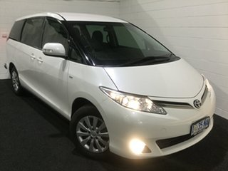 2013 Toyota Tarago ACR50R MY13 GLi Chrystal Peral/cloth 7 Speed Constant Variable Wagon.