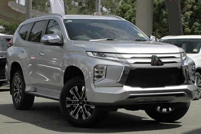 New Mitsubishi Pajero Sport QF MY20 GLS, 2020 Mitsubishi Pajero Sport QF MY20 GLS Sterling Silver 8 Speed Sports Automatic Wagon
