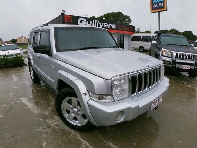 Used Jeep Commander XH Limited, 2007 Jeep Commander XH Limited Silver 5 Speed Automatic Wagon