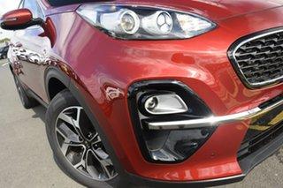2021 Kia Sportage QL MY21 SX+ AWD Fiery Red 8 Speed Sports Automatic Wagon.