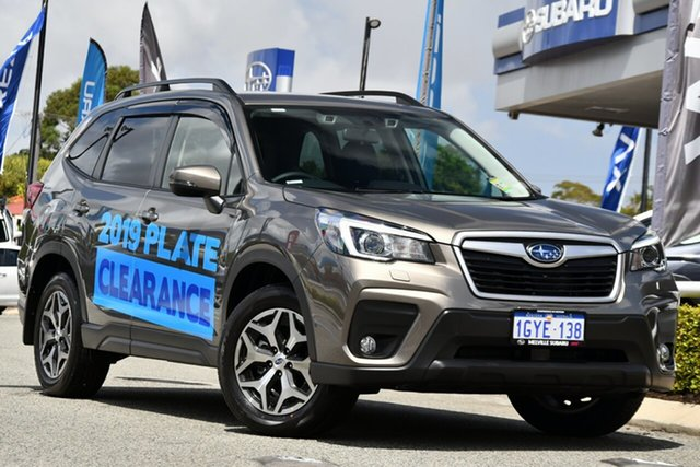 Demo Subaru Forester S5 MY20 2.5i-L CVT AWD, 2019 Subaru Forester S5 MY20 2.5i-L CVT AWD Sepia Bronze 7 Speed Constant Variable Wagon