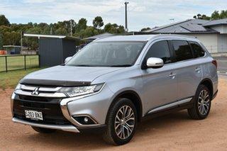 2016 Mitsubishi Outlander ZK MY16 LS 4WD Silver 6 Speed Wagon