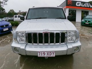 2007 Jeep Commander XH Limited Silver 5 Speed Automatic Wagon.