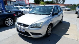 2007 Ford Focus LT CL Silver 5 Speed Manual Hatchback.