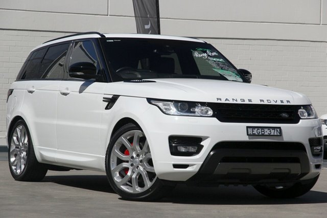 Used Land Rover Range Rover Sport L494 16.5MY SDV8 HSE Dynamic, 2016 Land Rover Range Rover Sport L494 16.5MY SDV8 HSE Dynamic White 8 Speed Sports Automatic Wagon