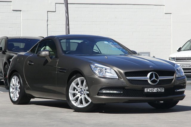 Used Mercedes-Benz SLK-Class R172 SLK200 BlueEFFICIENCY 7G-Tronic +, 2011 Mercedes-Benz SLK-Class R172 SLK200 BlueEFFICIENCY 7G-Tronic + Metallic Bronze 7 Speed