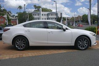 2019 Mazda 6 GL1033 Sport SKYACTIV-Drive Snowflake White 6 Speed Sports Automatic Sedan.