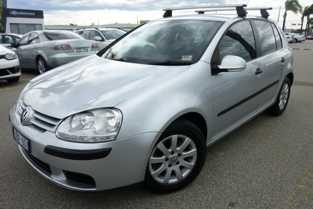 Used Volkswagen Golf V Comfortline Cheltenham, 2006 Volkswagen Golf V Comfortline Silver 6 Speed Manual Hatchback