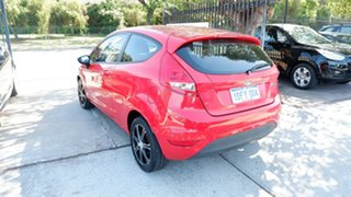 2008 Ford Fiesta WS CL Red 5 Speed Manual Hatchback