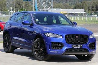 2019 Jaguar F-PACE X761 MY19 R-Sport Caesium Blue 8 Speed Sports Automatic Wagon.