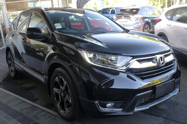Demo Honda CR-V RW MY20 VTi-S FWD, 2019 Honda CR-V RW MY20 VTi-S FWD Crystal Black 1 Speed Constant Variable Wagon
