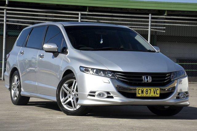 Used Honda Odyssey RB MY11 Luxury, 2011 Honda Odyssey RB MY11 Luxury Silver 5 Speed Automatic Wagon