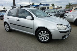2006 Volkswagen Golf V Comfortline Silver 6 Speed Manual Hatchback.