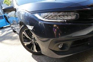 2016 Honda Civic MY16 RS Grey Continuous Variable Sedan.