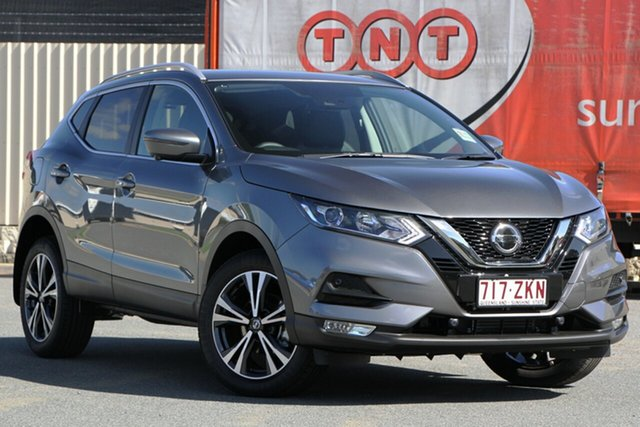 Demo Nissan Qashqai J11 Series 3 MY20 ST-L X-tronic, 2019 Nissan Qashqai J11 Series 3 MY20 ST-L X-tronic Gun Metallic 1 Speed Constant Variable Wagon