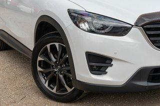 2015 Mazda CX-5 KE1032 Akera SKYACTIV-Drive AWD White 6 Speed Sports Automatic Wagon.