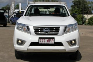 2016 Nissan Navara D23 S2 DX 4x2 White 6 Speed Manual Cab Chassis