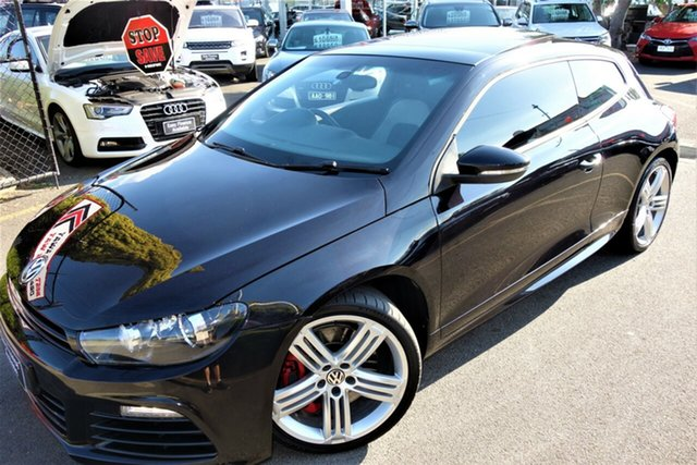 Used Volkswagen Scirocco 1S MY12 R Coupe DSG Seaford, 2012 Volkswagen Scirocco 1S MY12 R Coupe DSG Black 6 Speed Sports Automatic Dual Clutch Hatchback