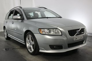 2009 Volvo V50 MY09 LE Silver 5 Speed Sports Automatic Wagon.
