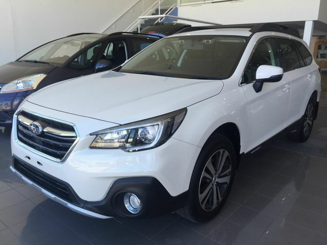 Used Subaru Outback B6A MY18 2.5i CVT AWD, 2018 Subaru Outback B6A MY18 2.5i CVT AWD White 7 Speed Constant Variable Wagon