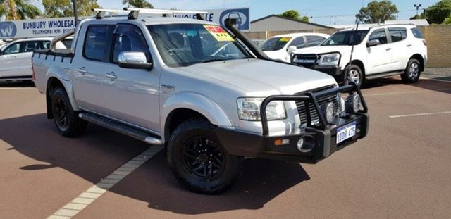 Used Ford Ranger PJ XLT Crew Cab, 2008 Ford Ranger PJ XLT Crew Cab Silver 5 Speed Automatic Utility