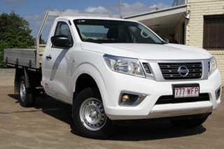2016 Nissan Navara D23 S2 DX 4x2 White 6 Speed Manual Cab Chassis.