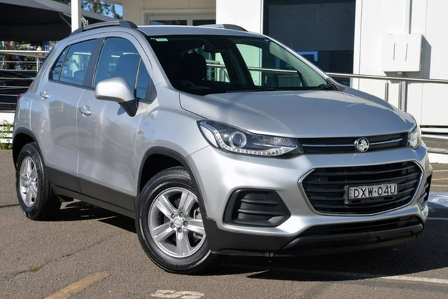 Used Holden Trax TJ MY17 LS, 2017 Holden Trax TJ MY17 LS Silver 6 Speed Automatic Wagon
