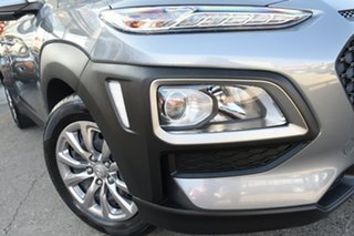 2018 Hyundai Kona OS.2 MY19 GO (FWD) Lake Silver 6 Speed Automatic Wagon.