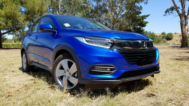 Demo Honda HR-V MY20 VTi-S, 2020 Honda HR-V MY20 VTi-S Blue 1 Speed Automatic Hatchback