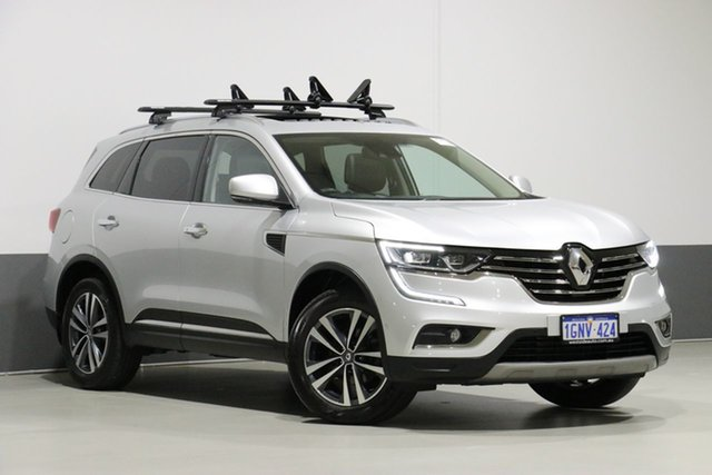 Used Renault Koleos XZG MY18 Update Intens X-Tronic (4x4), 2018 Renault Koleos XZG MY18 Update Intens X-Tronic (4x4) Silver Continuous Variable Wagon