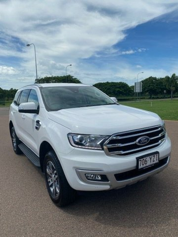 Used Ford Everest UA II 2019.00MY Trend 4WD, 2019 Ford Everest UA II 2019.00MY Trend 4WD Arctic White 6 Speed Sports Automatic Wagon