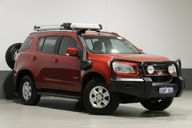 Used Holden Colorado 7 RG LT (4x4), 2013 Holden Colorado 7 RG LT (4x4) Red 6 Speed Automatic Wagon