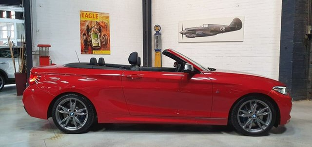 Used BMW 2 Series F23 M235I, 2016 BMW 2 Series F23 M235I Red 8 Speed Sports Automatic Convertible