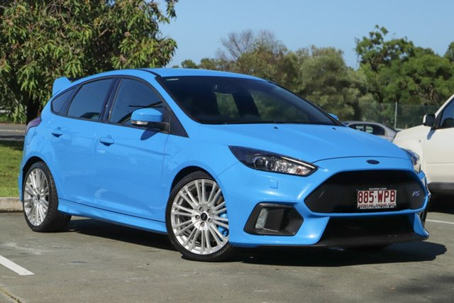 Used Ford Focus LZ RS AWD, 2016 Ford Focus LZ RS AWD Blue 6 Speed Manual Hatchback