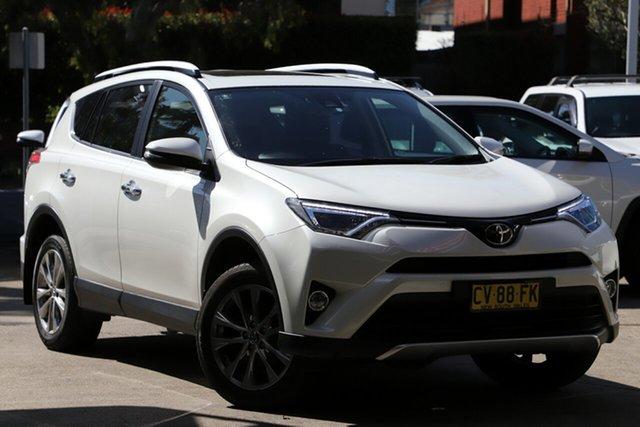 Used Toyota RAV4 ASA44R MY16 Cruiser (4x4), 2015 Toyota RAV4 ASA44R MY16 Cruiser (4x4) White 6 Speed Automatic Wagon